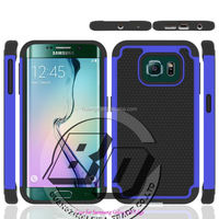 Best Quality Rugged armor Football Pattern case for Samsung Galaxy S6 Edge hard case mobile phone case cover