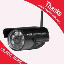 720P 1.0MP wireless IP security camera support tf card