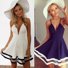 C84947A european women summer sling dress