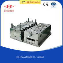 Mould plastic injection mould process making