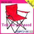 lienzo de buena calidad de camping silla plegable para camping