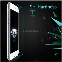 hot superhard h9 tempered glass film screen protector for mobile phone