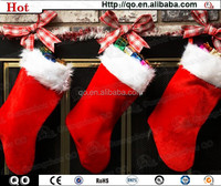Christmas hanging decoration exquisite christmas sock for sales