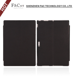 Hot sell pu leather flip tablet case for Microsoft Surface Pro 3