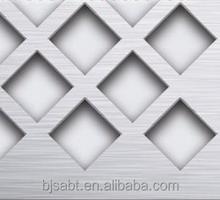 diamond shaped opening perforated metal sheet/perfor metal walkway