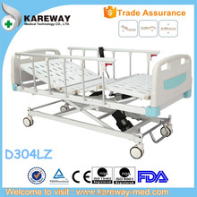 Full Electric 3 cranks hopital bed,ISO patient bed,PP Medical Bed