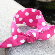 Lovely rabbit ear hairband, baby hairband ,fashion accessories wholesale