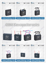 CBB61 Fan Capacitor 3uf capacitor,cbb series, film capacitor.Ac Motor Run Capacitor