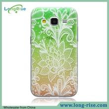 Fancy Gradient Rose Flower Pattern Phone Case for Samsung Galaxy Core Prime Case