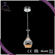 metal shade silver davit pendant light