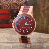 Two Tone Wooden Watch For Men Made In Japan HQ1362