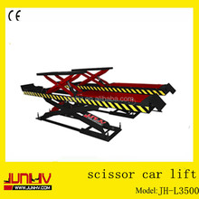 First choice CE approved car scissor lift used, car lift, lift car JH-L3500
