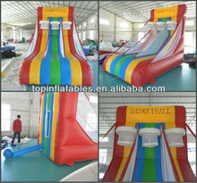 TOP inflatable basketball court,inflatable basketball shooting