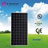 Modern design cheap monocrystalline solar panel 180w