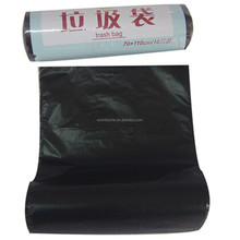 70*110cm Huge and heave duty black value packed plastic trash bag
