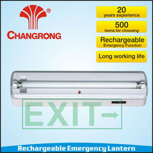 Rechargeable exit light led emergency light