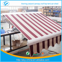 High quality 3.0m x 2.0m high quality rv awning manufacturers -CZCD3020-RM23 Prefab Electric Retractable door entrance awning