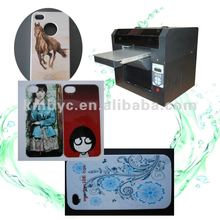 latest popular mobile phone case/universal smart phone wallet style lather case/stainless steel cell phone case printing machine