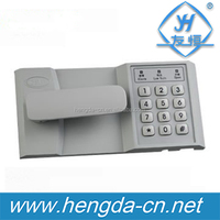 YH9153 3 points type keypad metal digital password cabinet handle lock