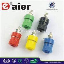 Daier female 4mm heavy duty electrical binding posts 12-24v dc short length