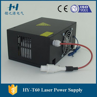 factory deliver co2 laser acrylic engraving power supply 60w