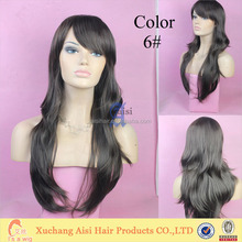 100% Synthetic Kanekalon Toyokalon Japanese Fiber Wig Black Curly Wigs Long Styles U Part Synthetic Wigs
