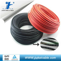 Jiukai tuv 2 pfg 1169/08.2007 pv1-f 6mm2 solar panel cable red for solar photovoltica system