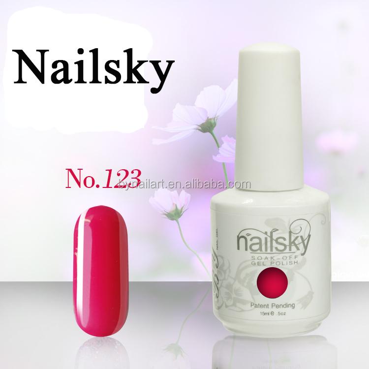 2015 Top 10 nail art design 147 colors gel nail polish soak off gel