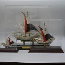 Modern Diamond Crystal Ship Model/Elegant Ship Souvenir Business Gifts