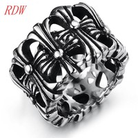 Newest !!! Superior Classical Artificial Engraved Lace Pattern Rings Jewelry Suitable For Men And Women