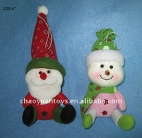 "push dolls 6"" christmas hanging santa claus decoration DO2476211567"