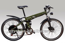 high quality 36V Mountain motor Powered bike with EN15194