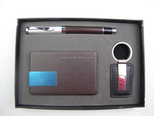 key chain+card case +pen suits,Advertising promotional pen gifts,pen gift setsTS-p00146