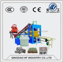 2015 product block machine QT4-15D brick wall building machine