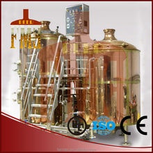 copper electric 2 tanks brewhouse