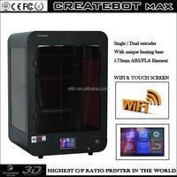 Alibaba hot sale Createbot 3d printer china factory direct 1.75mm High Accuracy 3d printing christmas gift box printer 3d