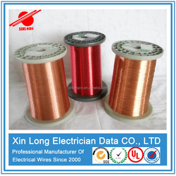 Manufacturing UL Approved Polyurethane 155C/180C Enamel Copper Wire Winding