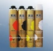 Manufacture of Aerosol Canned Construction PU Foam Sealants