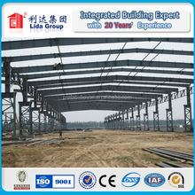 Light steel arch storage building space frame systems