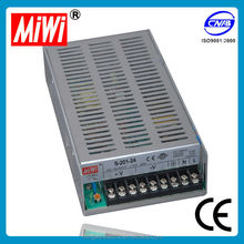 S-201-24 miwi 200w 24v 8.3a dc single output Power Supply