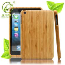 2015 hot sell original wood case bamboo case for ipad mini /for mini ipad with custom design