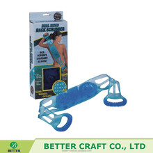 New Dual Sided Back Scrubber / Washer / Belt Massager All-In-One Easy To Use