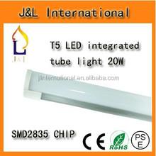 High Lumen SMD2835 20W 1200mm T5 integrated LED Tube Light