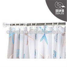 La cortina de ducha de rod& con bisagras barra de la cortina& cortina de ducha de rod& nuevos diseños de las barras de cortina
