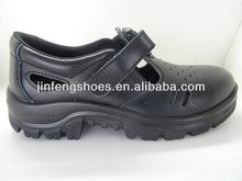 2014 new summer steel toe cap genuine leather brand safety shoes