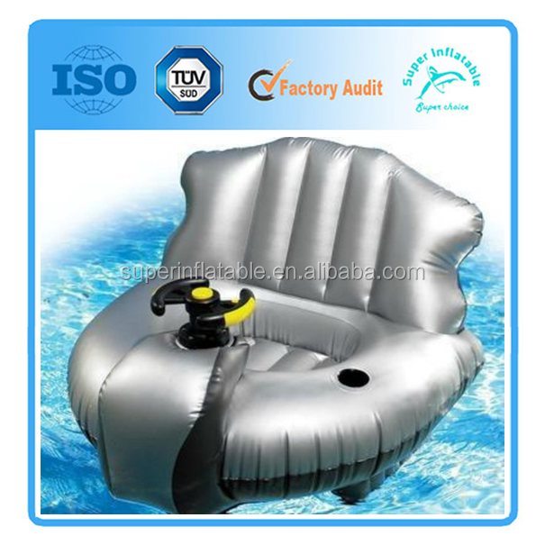 Inflatable motor lounge moter chair for Motorized lounge chair pool float
