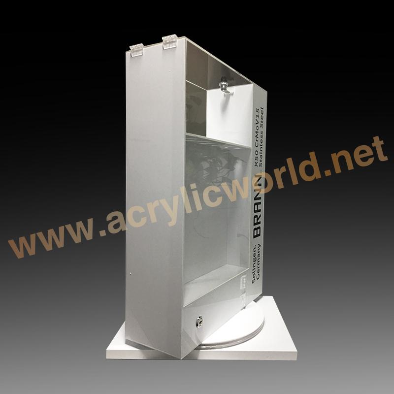 Portable Clear Acrylic Display Stand Acrylic Sword Holder