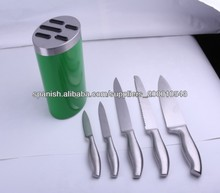 stainless steel knife 5pcs/ china manufacturer