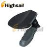 Black Gray Antislip Handle Sponge Car Wheel Tyre Tire Wax Brush