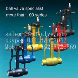 Underground Fully Welded Ball Valve long stem ball valve